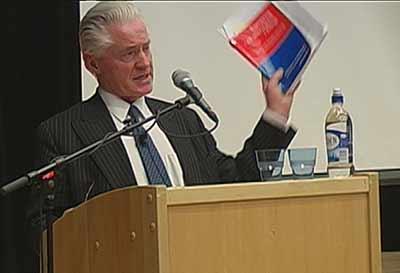 Fleichers foredrag fra folkemøtet 10. mai
