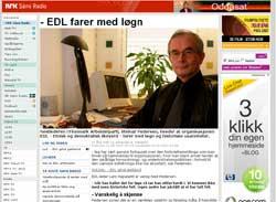 Steinar Pedersen: -EDL farer med løgn