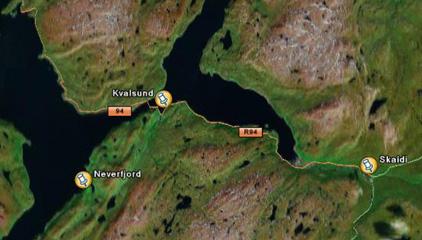 Pressemelding, gruvedrift i Kvalsund