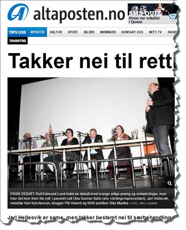 Samisk politikk og rettigheter